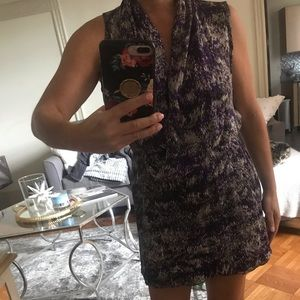 Parker silk mini dress